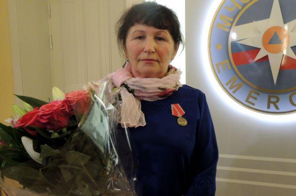 Пастуховой было приятно получить медаль, хотя она сама не считает свой поступок героическим