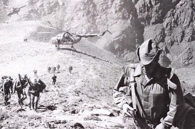 Советские войска в Афганистане.