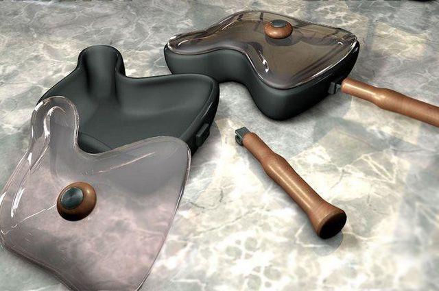 Сковородки для окорочков, которые придумал Игорь Мироненко.