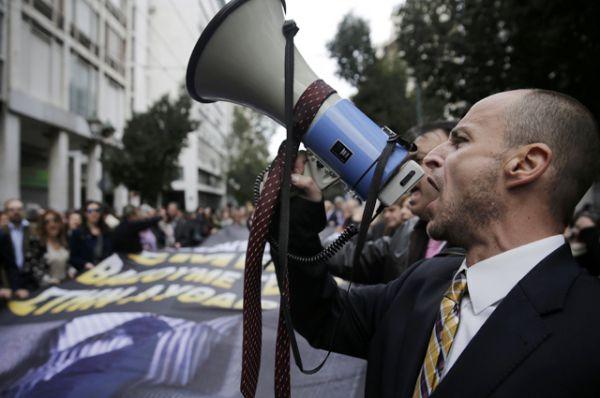 В акции протеста участвуют крупнейшие профсоюзы и сотрудники практически всех предприятий.
