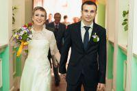 «Мы расписались 27 сентября 2012 года. Ане было 26 лет, мне - 24 года».