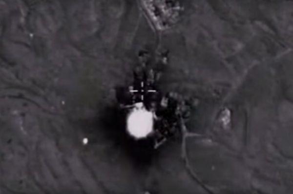 Уничтожение командного пункта боевиков с развитой инфраструктурой в провинции Латакия.