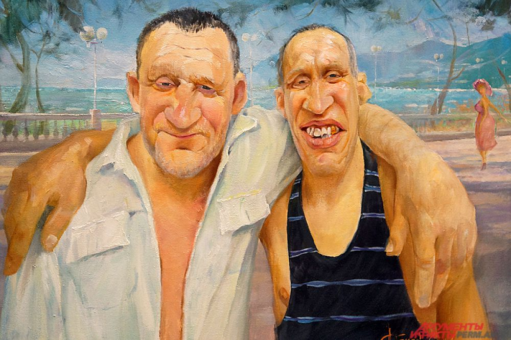 Эта картина называется «Дальнобойщики».