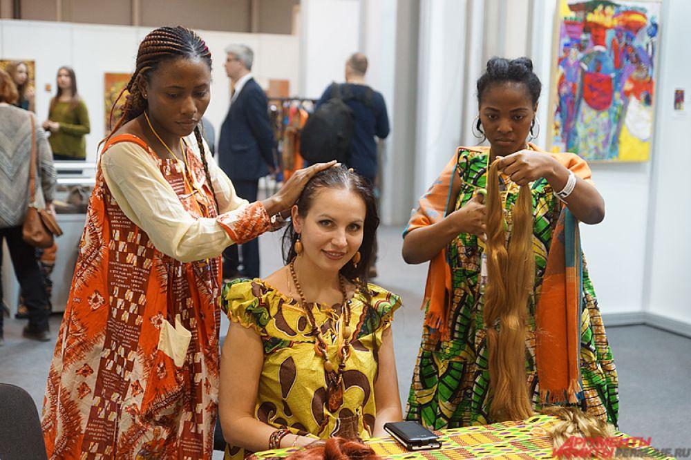 Кроме того, африканские мастера абсолютно бесплатно могут сделать причёску пермякам.