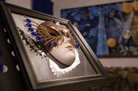Символ Национальной театральной Премии и фестиваля «Золотая Маска».
