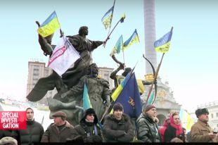 Кадр из фильма «Маски революции».