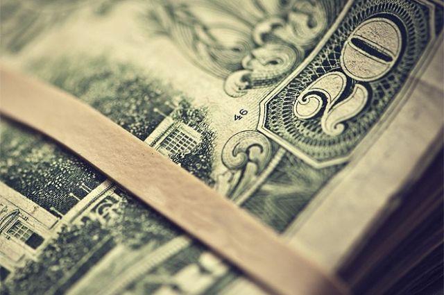 Доллар США подорожал на 20 копеек