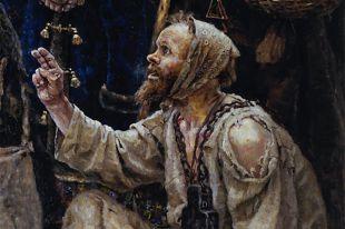 Фрагмент картины Василия Сурикова «Боярыня Морозова», 1884-1887 г.г.