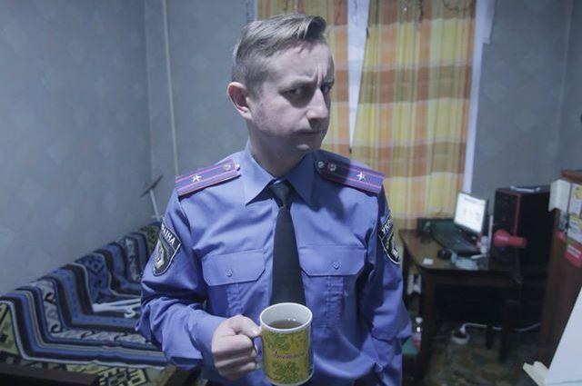 Жадан в роли майора милиции