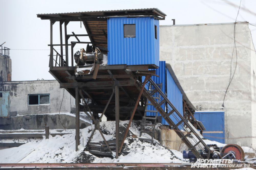 «Алмазная» считалась одной из передовой шахт в России. Здесь использовалось самое современное угледобывающее оборудование, которое теперь под слоем воды.