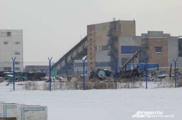 По словам директора, все шахтеры отпущены 15 ноября 2015. Все оборудование затоплено. Шахта «Алмазная» прекратила свое существование из-за банкротства. Судьбу административного корпуса и всех построек решит конкурсный управляющий.