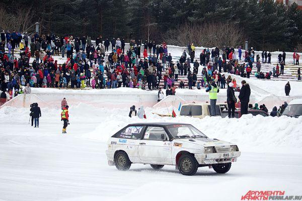 Отборочный этап открытого Кубка по зимним автомобильным гонкам «Трек 400», уже третий по счёту, прошёл в Перми в воскресенье, 7 февраля.