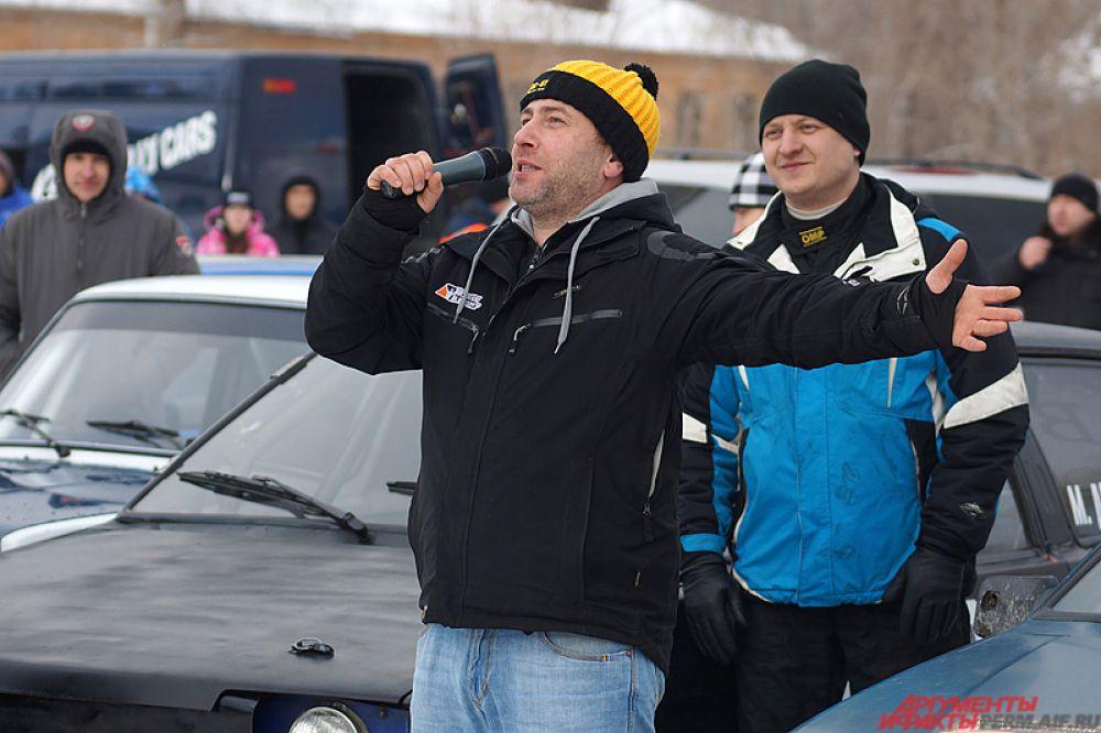 Двукратный чемпион России по ралли Григорий Трегубов.