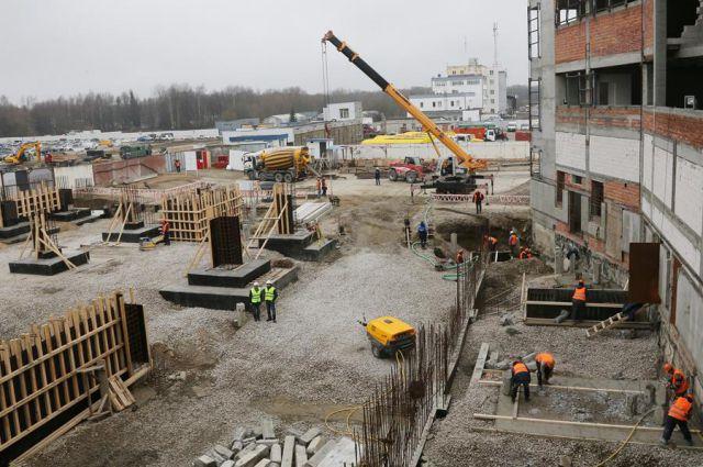 На стройплощадку аэропорта Храброво дополнительно пригласят 250 рабочих.