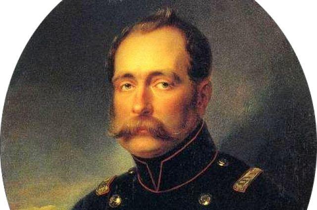 Великий князь Михаил Павлович, портрет работы Ивана Крамского