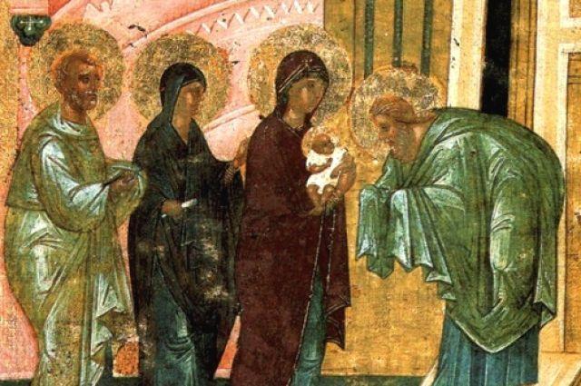 Двустороняя икона-таблетка второй четверти XV века. Сергиево-посадский музей заповедник (Ризница)