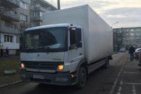 86-летняя пенсионерка погибла под колесами грузовика в Калининграде.