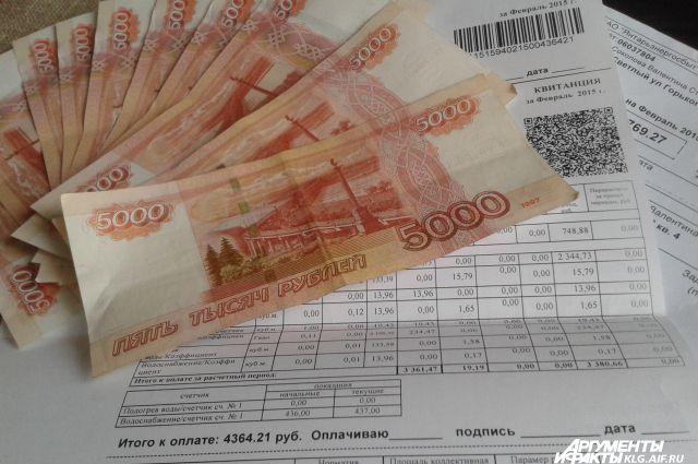 На оплату дополнительных квитанций на тепло калининградцам дали полгода.
