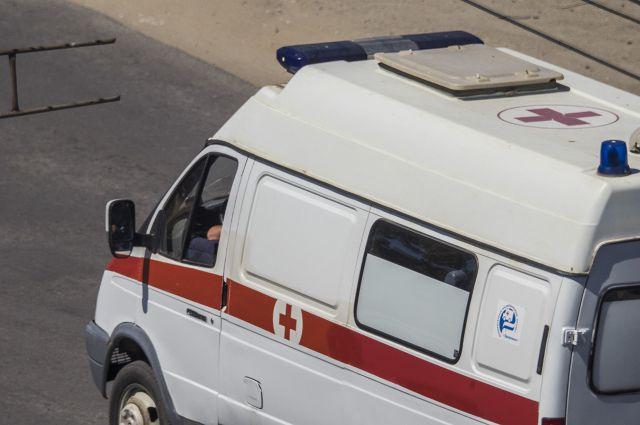 Авария произошла вчера в Азовском районе.