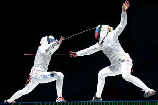В финальном поединке омич встретился с французским спортсменом.