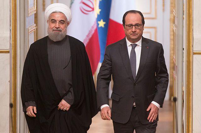 Президенту Ирана были рады в Париже. Москва подождёт?