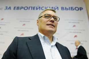 Глава оппозиционной партии «РПР-ПАРНАС» Михаил Касьянов.