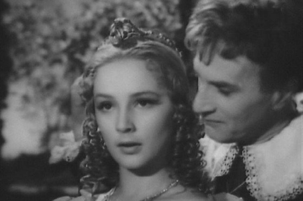 С Ольгой Красиной в фильме «Укрощение строптивой», 1961 год.