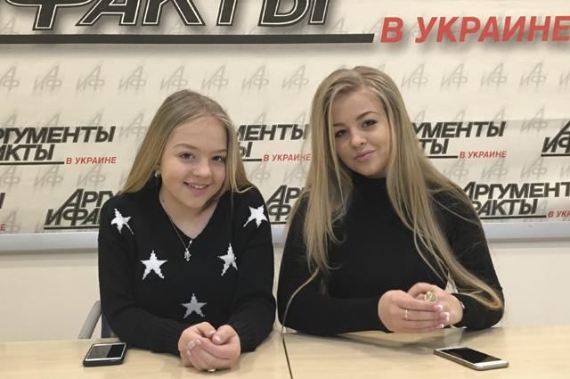 Сестры Виктория и Анастасия Петрик