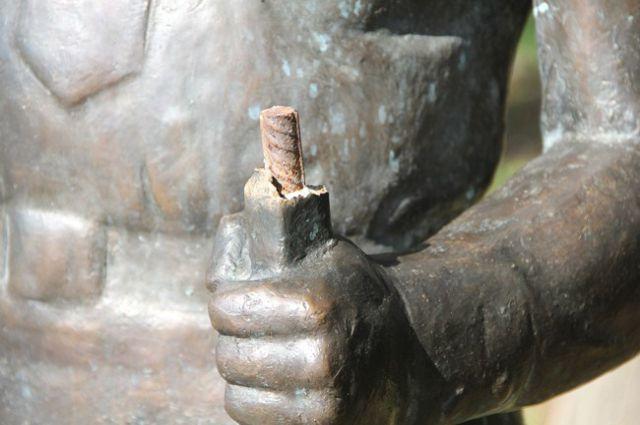 памятник солдату