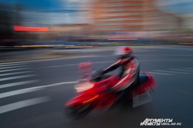 По некоторым улицам в Смоленске