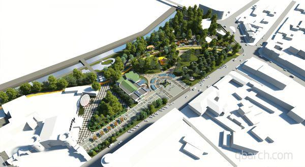 Центральный парк культуры и отдыха, ул. Ленина