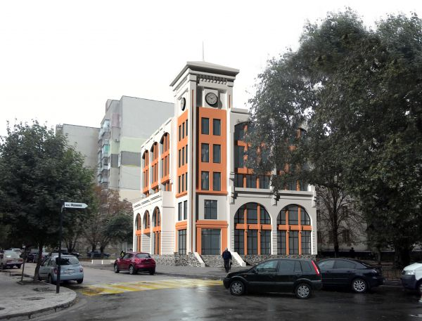 Торгово-офисный центр, ул. Тренева