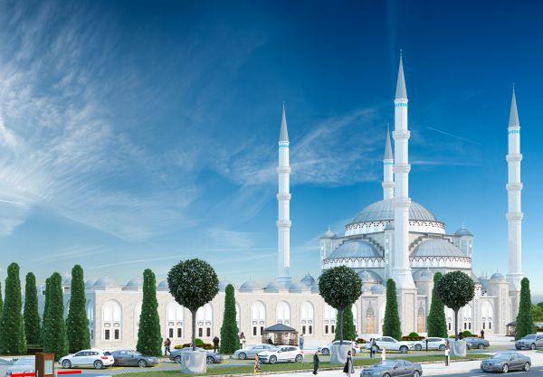 Соборная мечеть, пр. Вернадского