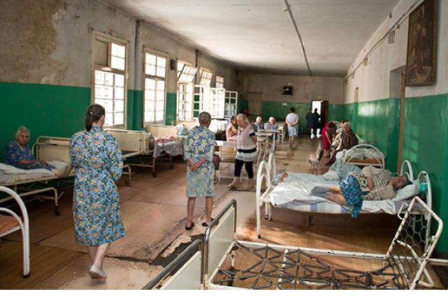 Фото из гедеоновской больницы, которое попало в интернет и потрясло людей из разных уголков России.