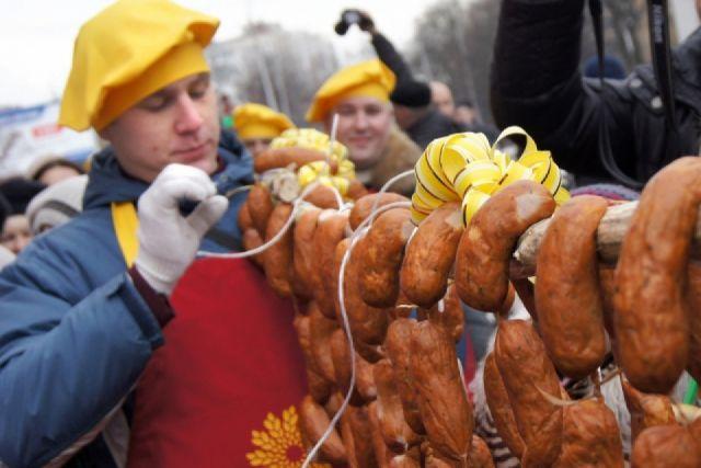 300-метровую колбасу приготовят на празднике в Калининграде.