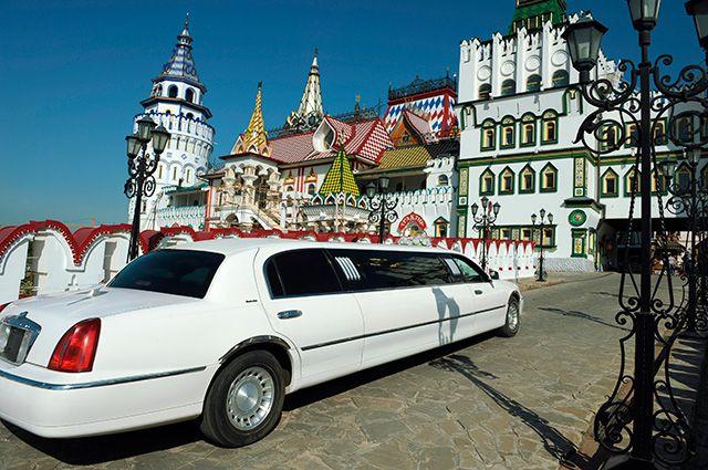В Измайлове целый «свадебный» кремль.