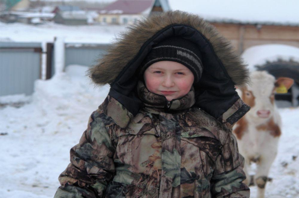 Участник №12.Андрей Могилин, зимние каникулы это ещё и отдых и труд.