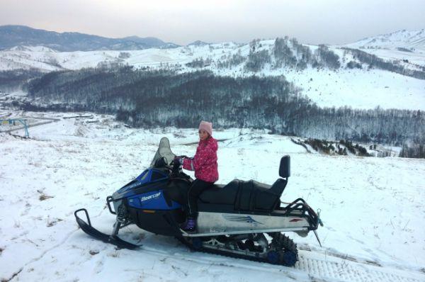Участник №18. Анастасия Носова. На Алтае провели зимние каникулы.