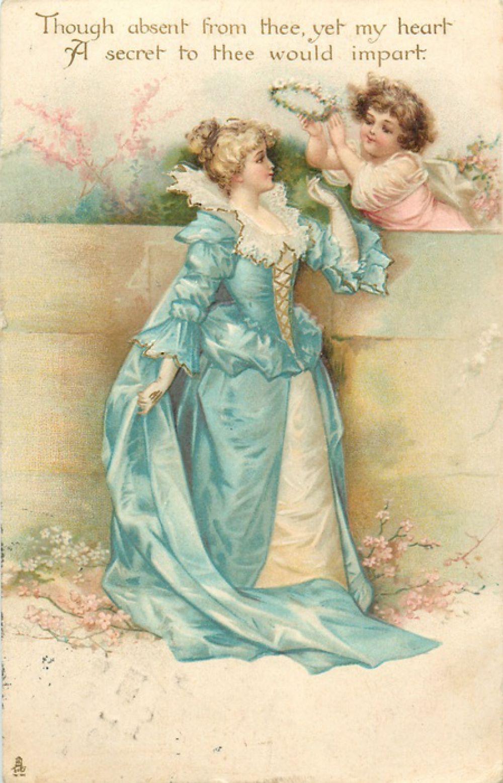 В конце 19 века валентинки начинают изготавливать на промышленных станках, основными производителями являлись США, Англия и Германия