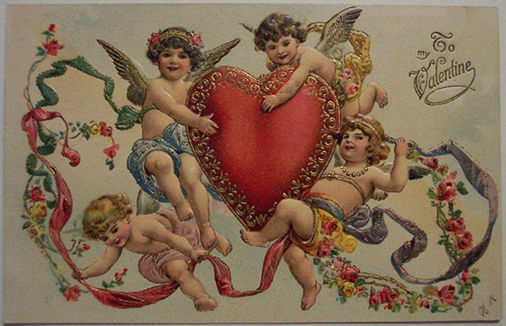 Как правило, валентинки были анонимными