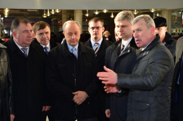 Президент ОАО«РЖД» Олег Белозеров посетил Саратовскую область