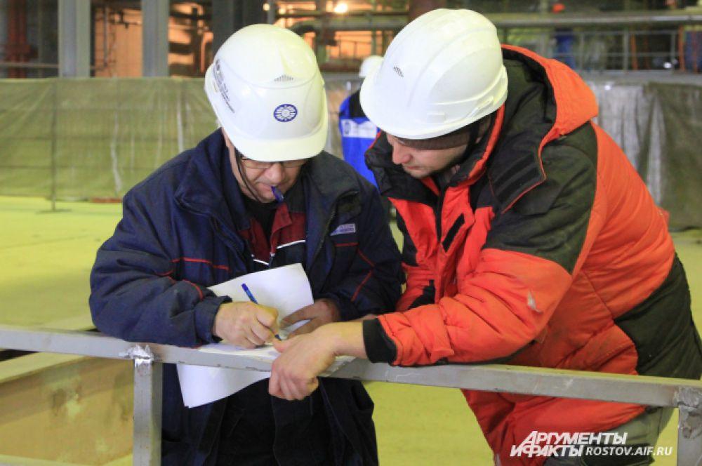 На четвертом корпусе АЭС выполнено 40% работ, запланированные на 2016 год 18 млрд рублей выделены в полном объеме.