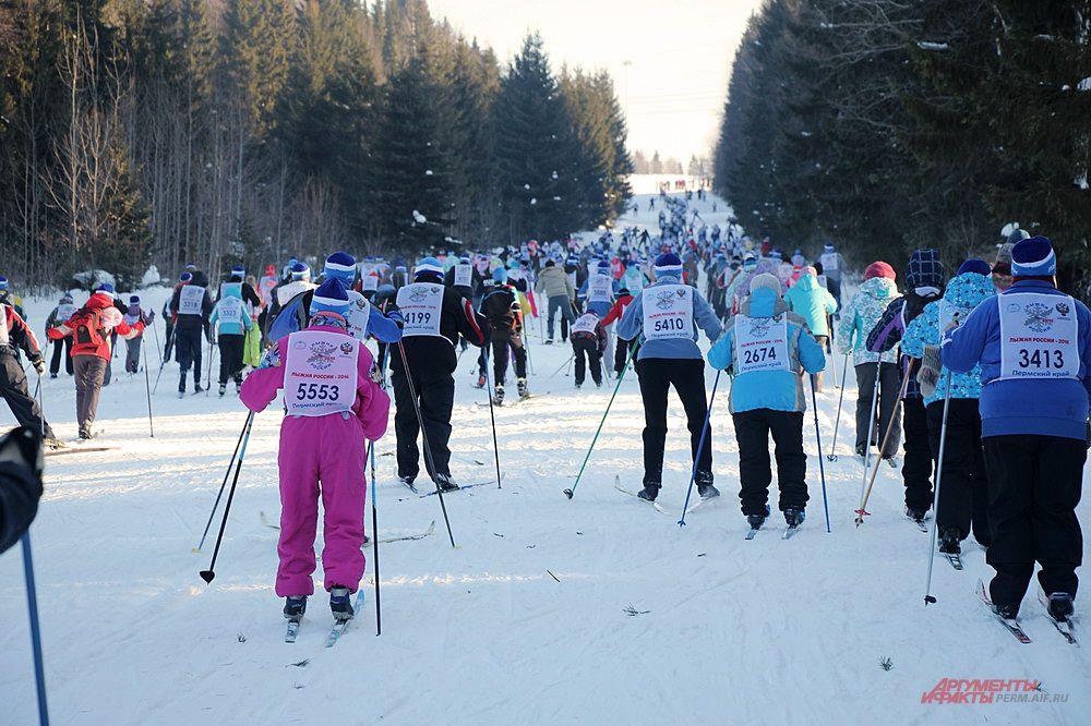 Массовая лыжная гонка не имеет возрастных ограничений.