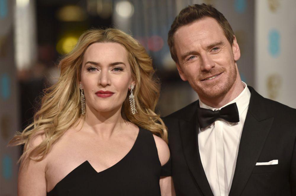 Кейт Уинслетт и Майкл Фассбендер - партнёры по фильму «Стив Джобс».