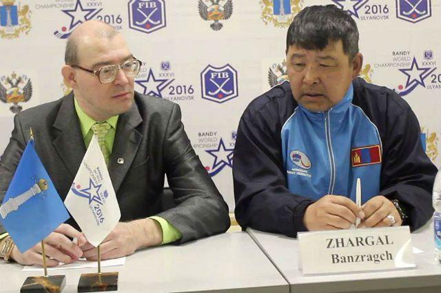 Монгольский тренер на послематчевой пресс-конференции