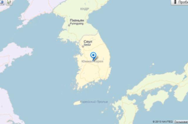 ВЮжной Корее потерпел крушение военный вертолет