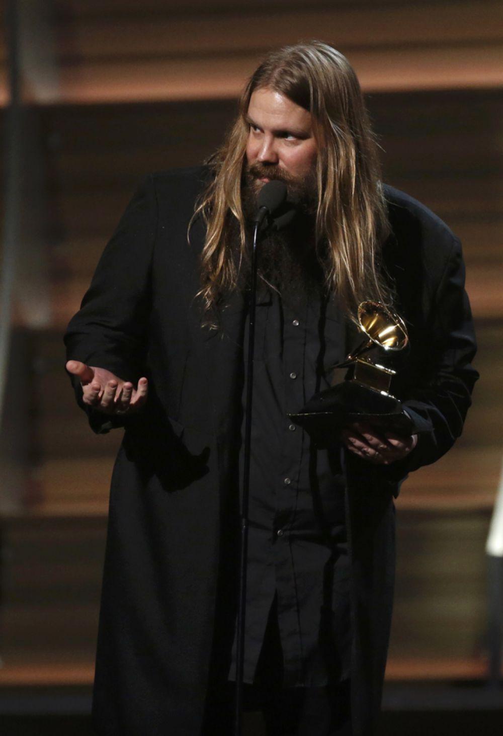 Приз за лучший кантри-альбом получил Крис Стэйплтон «Traveller».