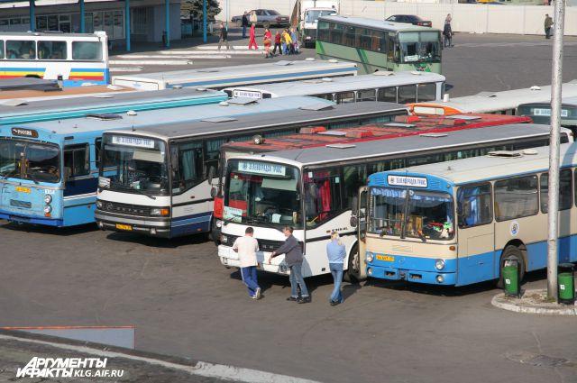 Санитарное состояние автобусов проверяет спецкомиссия в Калининграде.