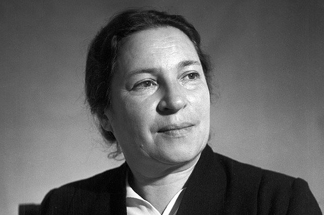 Агния Барто, 1954 год.