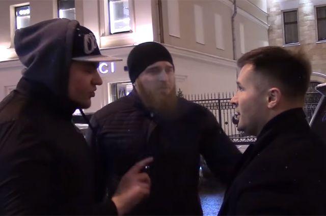Алексей Немов и представители движения «СтопХам».